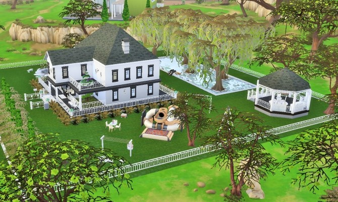 Two story home by heikeg at Mod The Sims image 3314 670x400 Sims 4 Updates