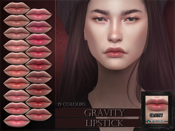 Gravity Lipstick by RemusSirion at TSR image 3322 Sims 4 Updates