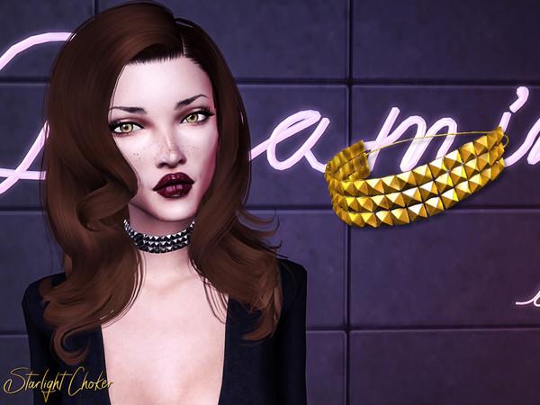 Sims 4 Starlight Choker by Genius666 at TSR
