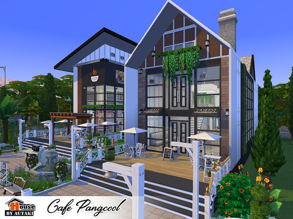 Cafe Pangcool by autaki at TSR image 3522 Sims 4 Updates