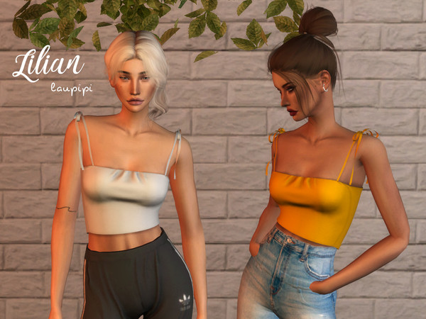 Lilian top by laupipi at TSR image 356 Sims 4 Updates