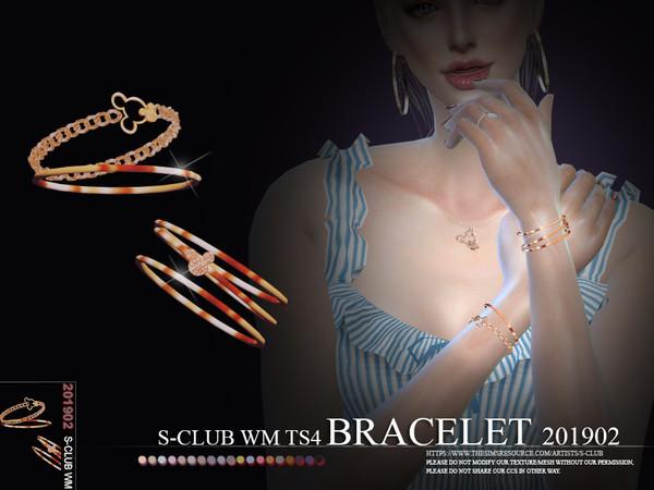 Sims 4 Bracelet 201902 by S Club WM at TSR