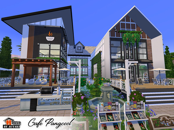 Cafe Pangcool by autaki at TSR image 3623 Sims 4 Updates