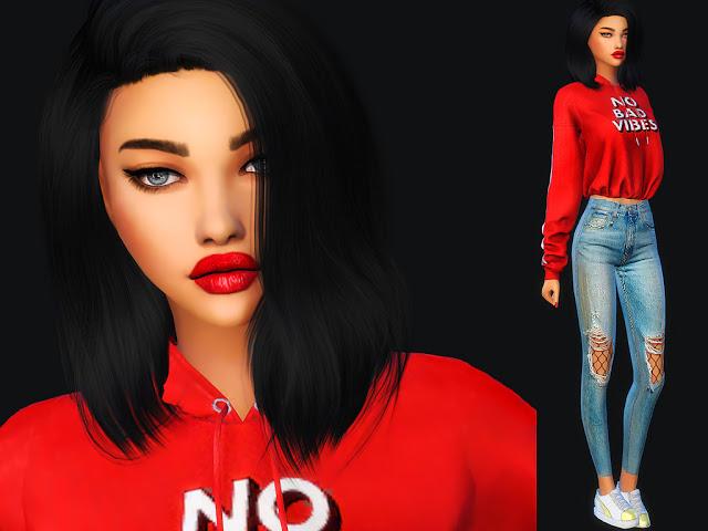 Sims 4 Amelia Givens at MSQ Sims