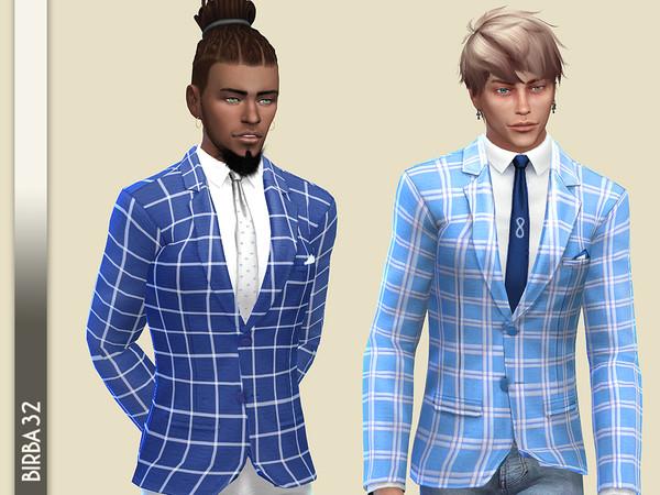 Sims 4 Valencia Jacket by Birba32 at TSR