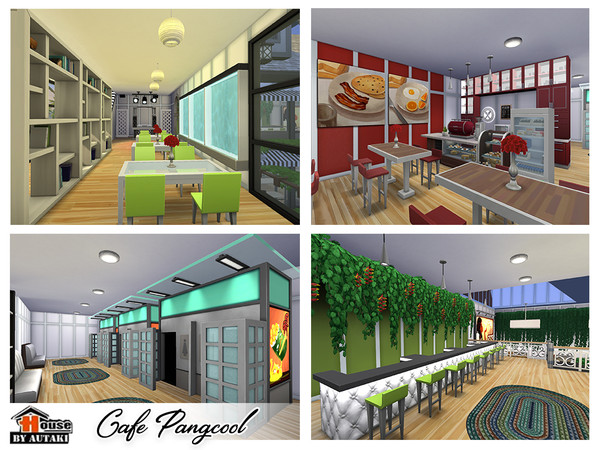 Cafe Pangcool by autaki at TSR image 3721 Sims 4 Updates