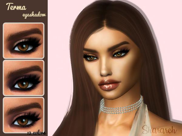 Sims 4 Terma eyeshadow by Sharareh at TSR