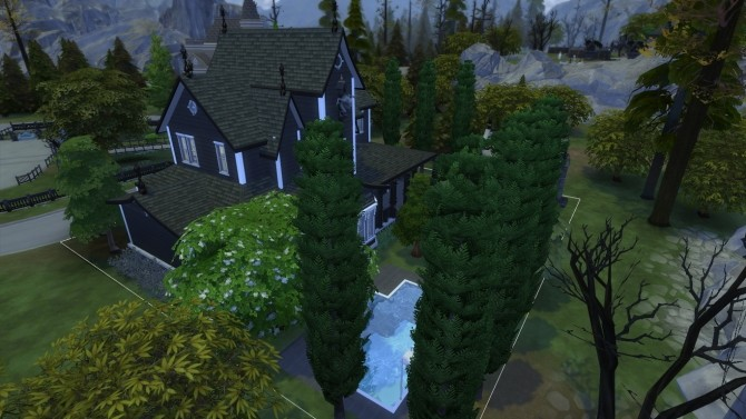 Sims 4 Forgotten Hollow renew #4 | Fledermaus Drac by iSandor at Mod The Sims