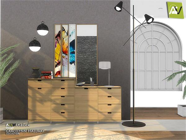 Gracelynn Hallway by ArtVitalex at TSR image 426 Sims 4 Updates