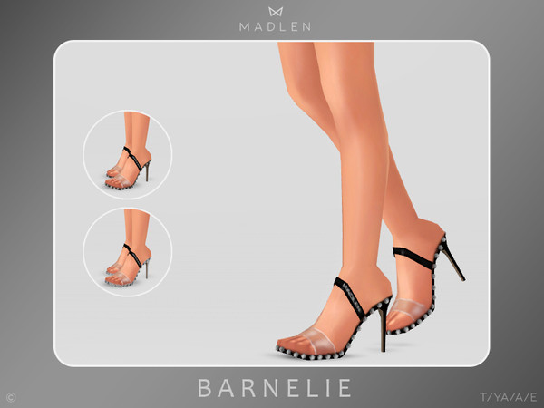 Sims 4 Madlen Barnelie Shoes by MJ95 at TSR