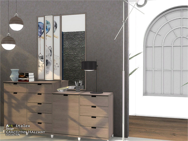 Sims 4 Gracelynn Hallway by ArtVitalex at TSR