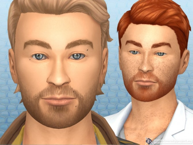 Sims 4 Natural eyebrows for bro's at Sims 4 Diversity Project