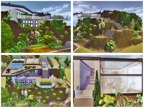 Sims 4 Casa Nature II by Danuta720 at TSR