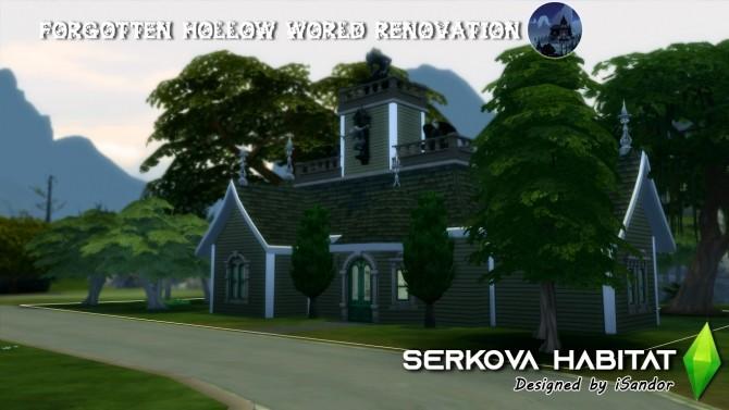 Sims 4 Forgotten Hollow renew #2 | Serkova habitat by iSandor at Mod The Sims