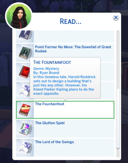 Ayn Rand Book Parodies (Readable) by SyrinxPriest2112 at Mod The Sims image 5112 Sims 4 Updates