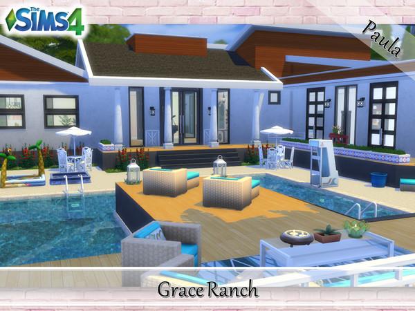 Sims 4 Grace Ranch by PaulaBATS at TSR