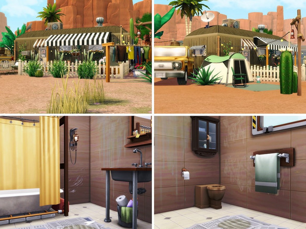 Happy Camper Life 2 by MychQQQ at TSR image 552 Sims 4 Updates