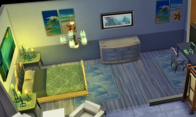 Sims 4 Home with basement by heikeg at Mod The Sims