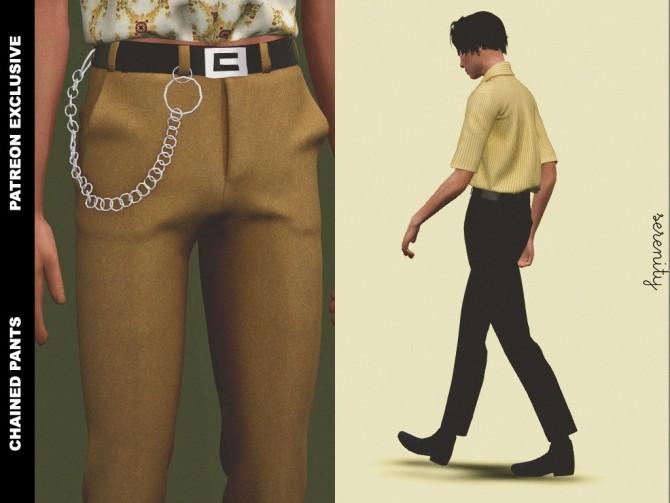 Pants and shirt (P) at SERENITY image 557 670x503 Sims 4 Updates