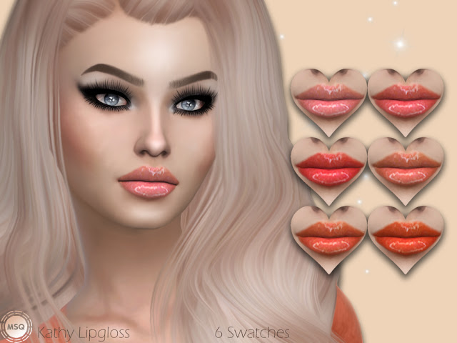 Kathy Lipgloss at MSQ Sims image 558 Sims 4 Updates