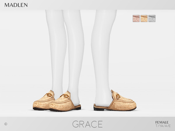 Sims 4 Madlen Grace Shoes F by MJ95 at TSR