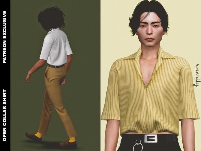 Pants and shirt (P) at SERENITY image 575 670x503 Sims 4 Updates