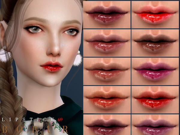 Sims 4 Lipstick 69 by Bobur3 at TSR