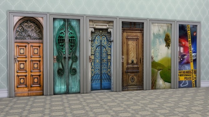 Make over my doors please by Ivyrose at Blooming Rosy image 5816 670x377 Sims 4 Updates
