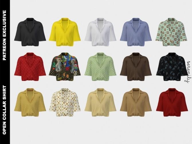 Pants and shirt (P) at SERENITY image 586 670x503 Sims 4 Updates