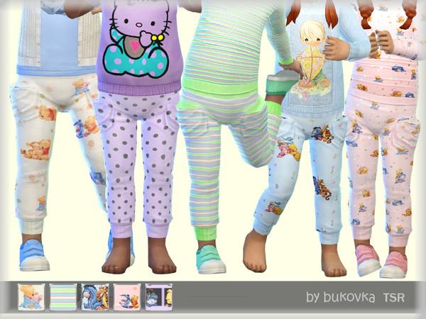 Sims 4 Pants for babies by bukovka at TSR