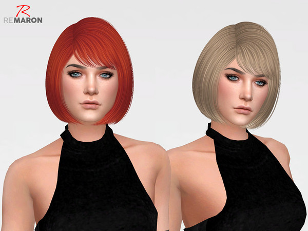 Sims 4 Dove Hair Retexture by remaron at TSR