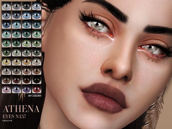Sims 4 Athena Eyes N157 by Pralinesims at TSR