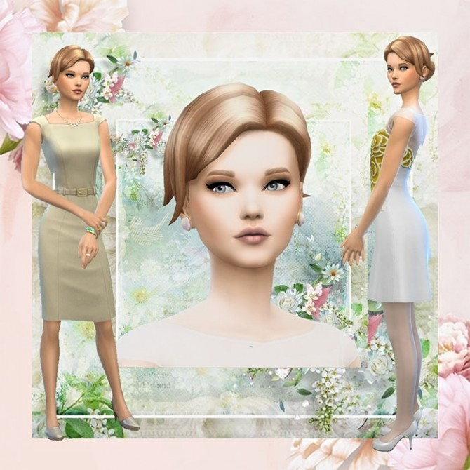Sims 4 Lily of the valley sim by Mich Utopia at Sims 4 Passions