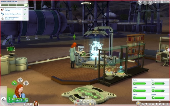 Scientist Career Graveyard Shift and Gardening Fix by gettp at Mod The Sims image 6613 670x419 Sims 4 Updates