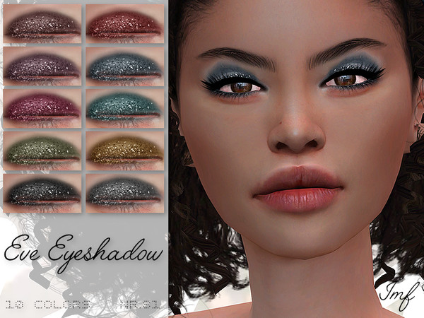 Sims 4 IMF Eve Eyeshadow N.81 by IzzieMcFire at TSR