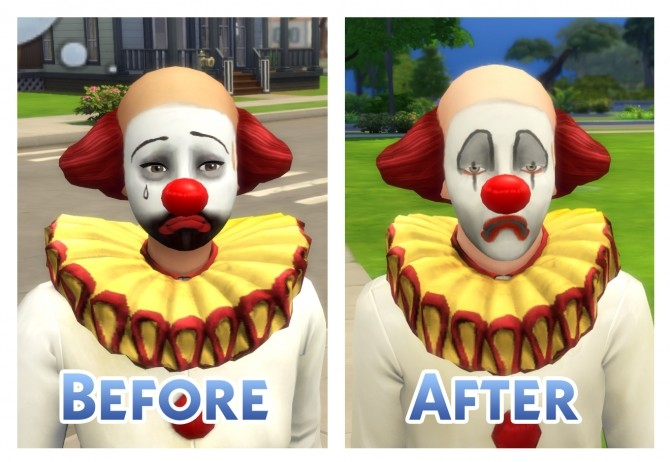Tragic Clown Overhaul by Menaceman44 at Mod The Sims image 6812 670x462 Sims 4 Updates