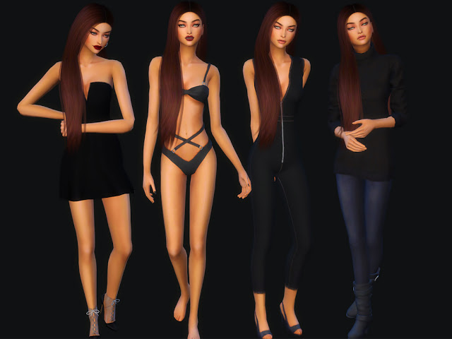 Sims 4 Karlee Fraser at MSQ Sims