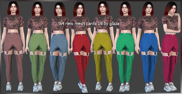 Sims 4 Pants 19 (P) at All by Glaza