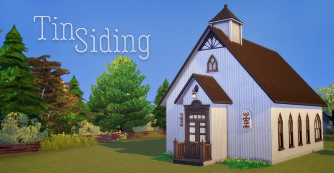 Tin Siding at Hamburger Cakes image 701 670x349 Sims 4 Updates