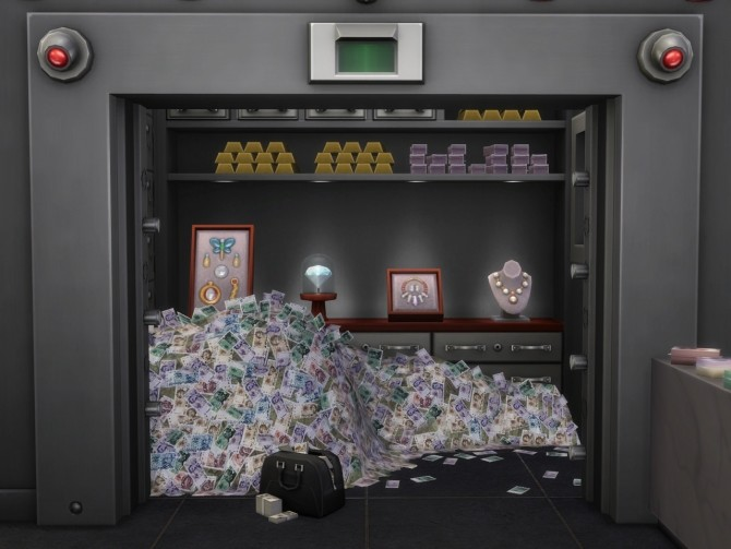 Safe and Bag at Alial Sim Sims 4 Updates