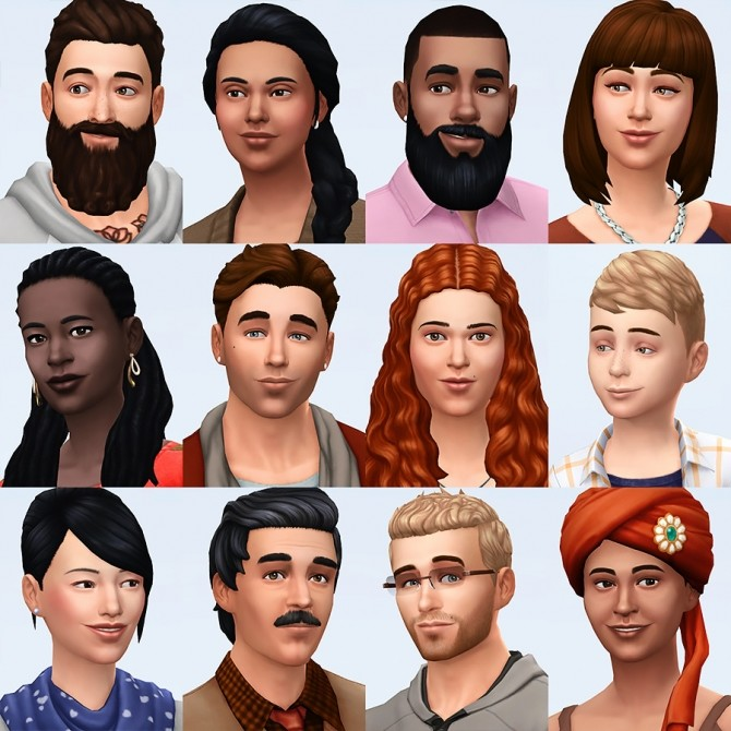 Sims 4 Service Sims and Townies at Simsontherope