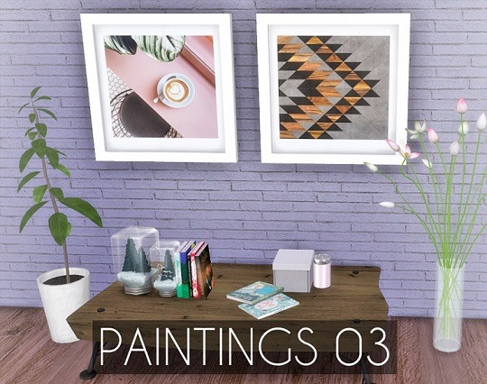 Paintings 03 at Descargas Sims image 7521 Sims 4 Updates
