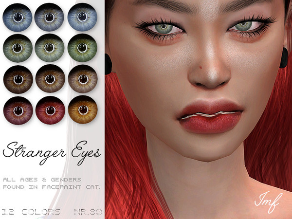 Sims 4 IMF Stranger Eyes N.80 by IzzieMcFire at TSR