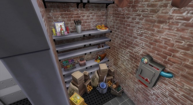 Sims 4 Green World Restaurant by Wild Lucy at Mod The Sims