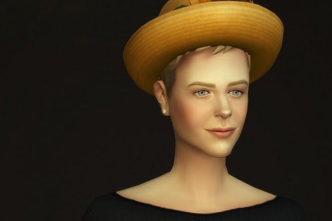 Sims 4 Short neat hair edit at Rusty Nail