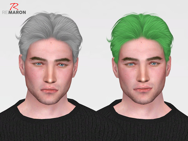 Sims 4 OS 0826 Hair Retexture by remaron at TSR