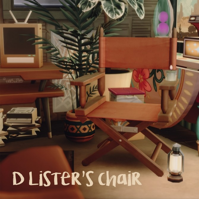 Sims 4 D LISTER'S CHAIR at Picture Amoebae