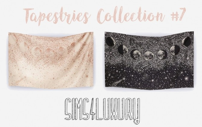 Sims 4 Tapestries Collection #7 at Sims4 Luxury