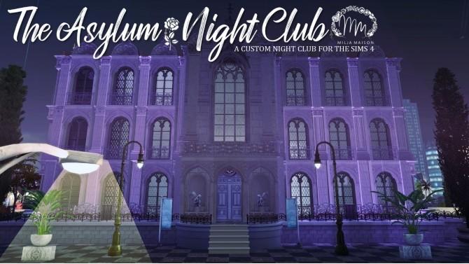 Sims 4 THE ASYLUM CLUB at Milja Maison