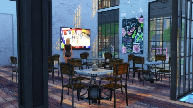 Sims 4 Waterside Warble club at Simming With Mary